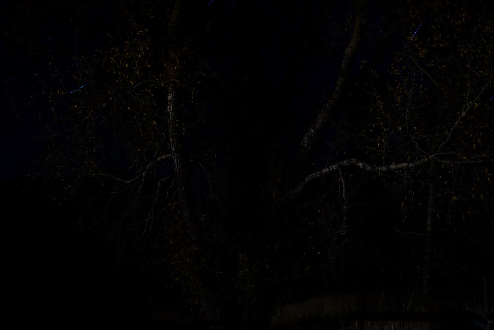 Haunting is the Night: Landscape Photograph in Wyoming