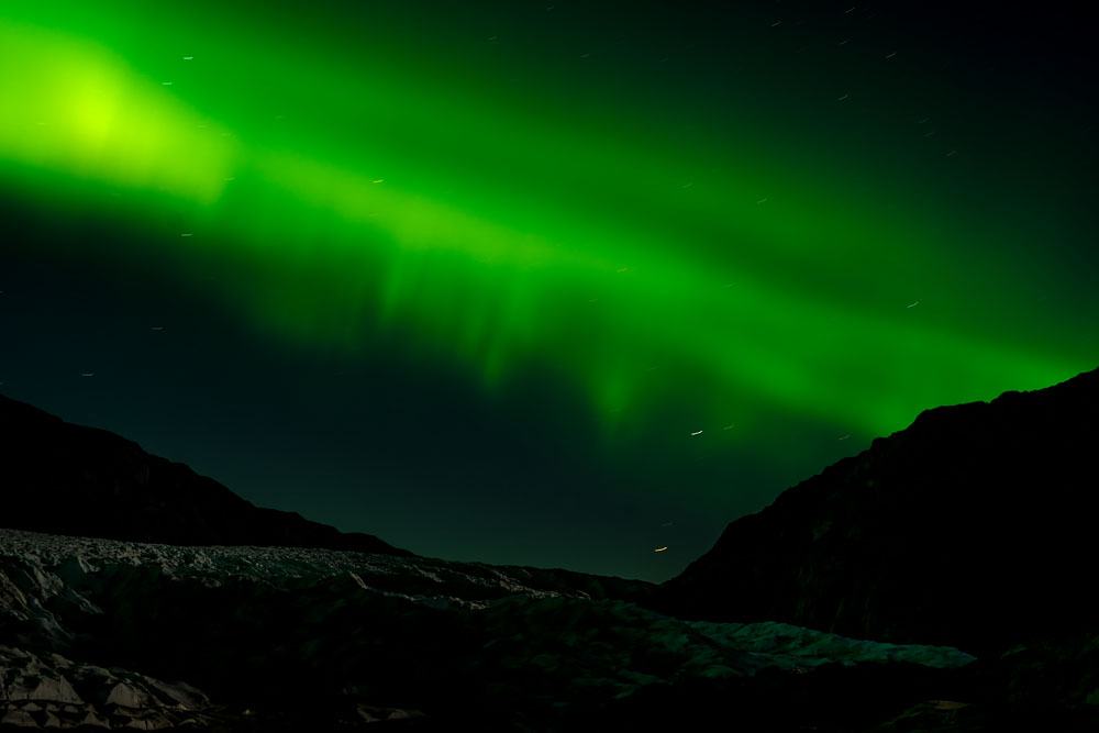 Some Real Northern Lights: Night Over Greenland