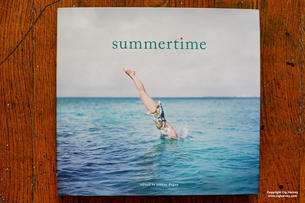 Summertime Book, fine art photography cover by Cig Harvey, edited by Joanne Dugan