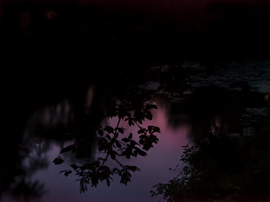 Nineteenth century along the canal: photograph in twilight @SteveGiovinco