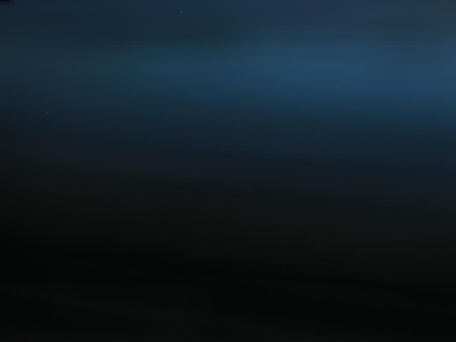 Post Twilight Sea in Blue: Sicily [Photograph]