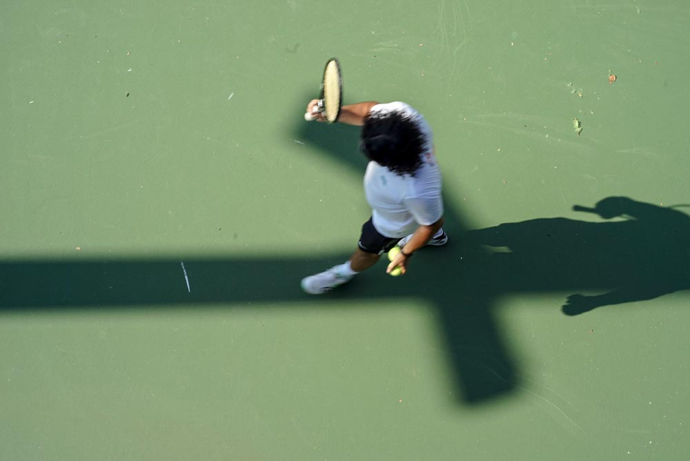 The Art of Tennis: Views of the US Open [Photograph], Steve Giovinco