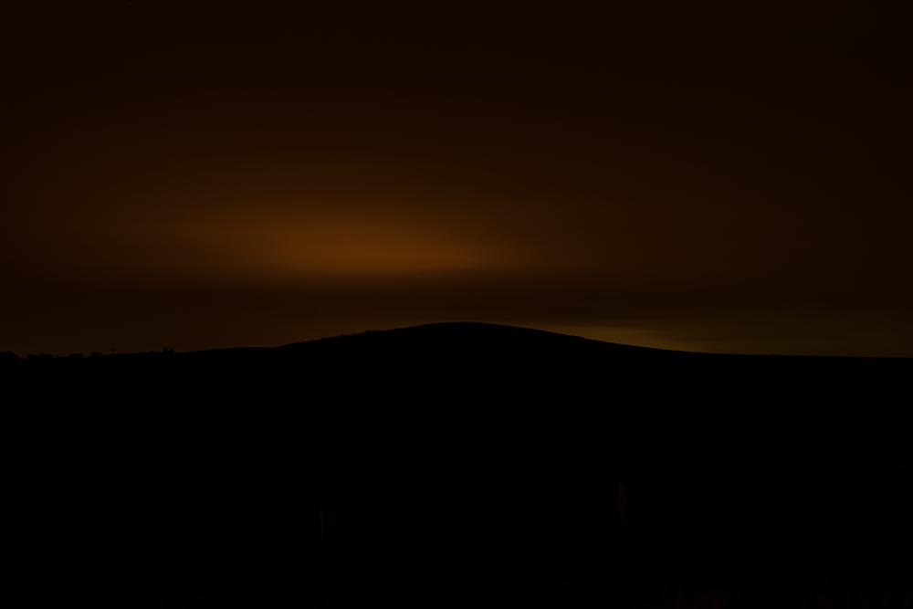 What a Two Hour Photographic Exposure at Night In Wyoming Looks Like (Haunting)