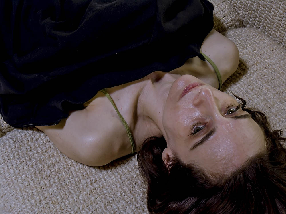 Searingly Clear, Lyrical Portrait: Dru Lying Down