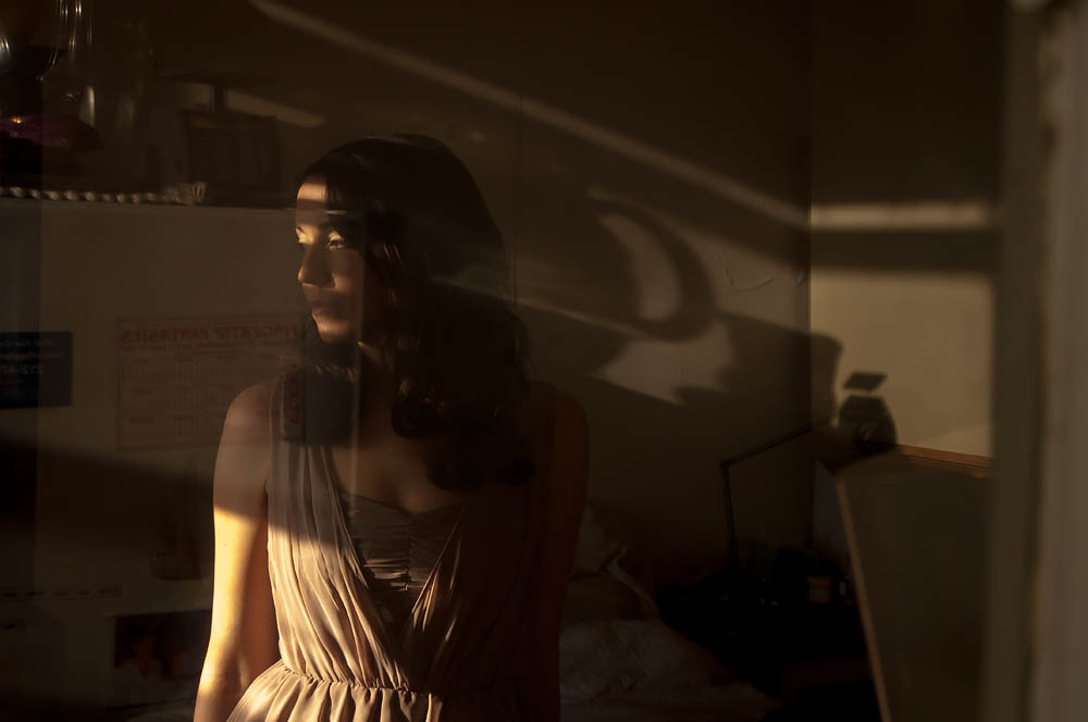 Waiting in Ambiguity: Casandra in Afternoon Light (Photo Commission)