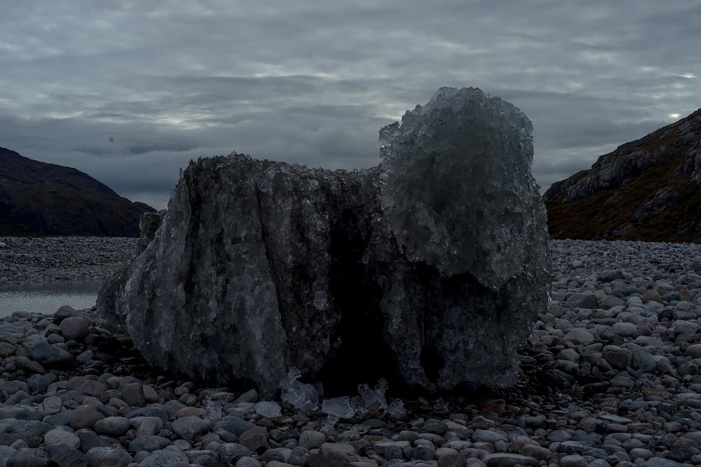Greenland Glacier Lay Broken in Valley, in Atlanta Celebrates Photography Festival Exhibition