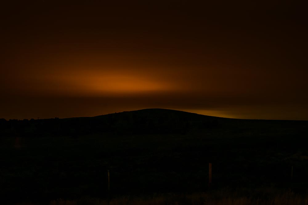 Until the End of the World: Eerie Night Landscape Photographs [Presentation]