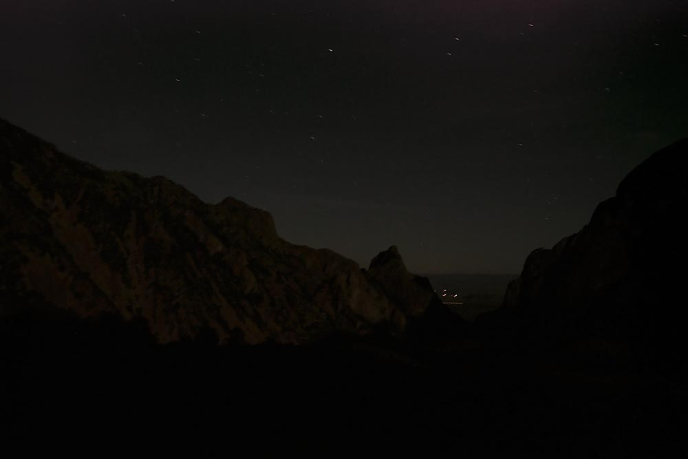 Looking Out to Mexico at Night on the Border: Big Bend National Park, Steve Giovinco