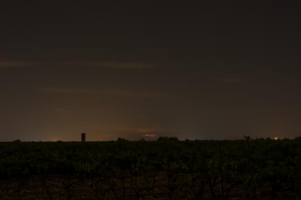 Lyrical Dark Nights, South of France: Through the Vineyards